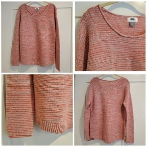 Old Navy, Crew Neck Sweater, Pink